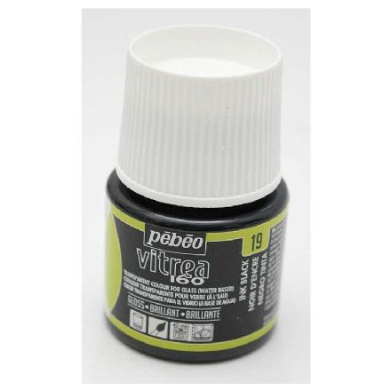 Glass Paint Pebeo Vitrail 160 - Ink Black